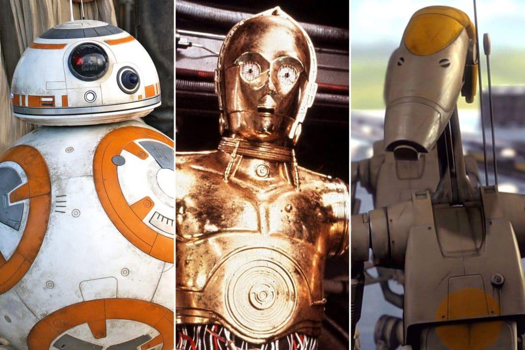 Droids of Star Wars, Quels sont les différents types de droïdes ?