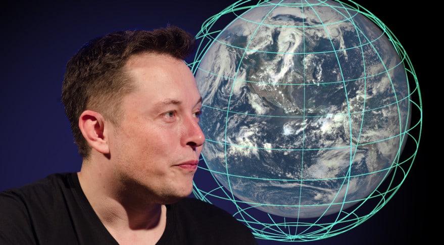 Elon Musk internet depuis l'espace