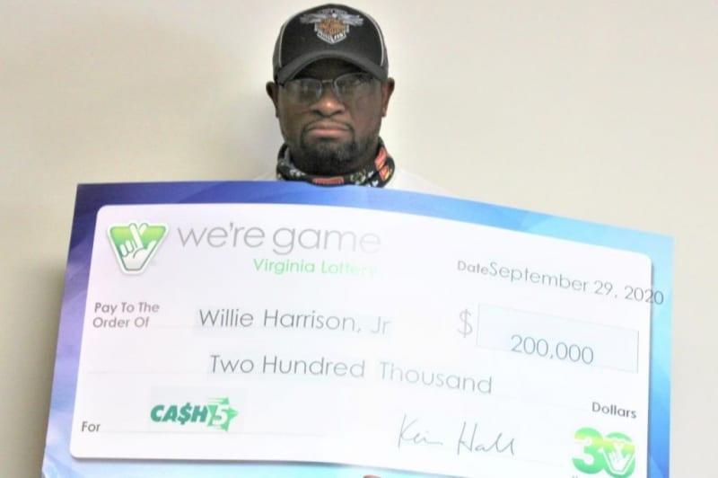 Un homme de Virginie gagne son deuxième jackpot à la loterie Cash 5 en deux ans