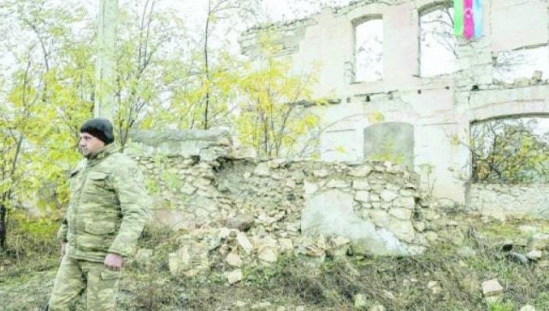 Dans la ville fantôme prise par les soldats azéris :