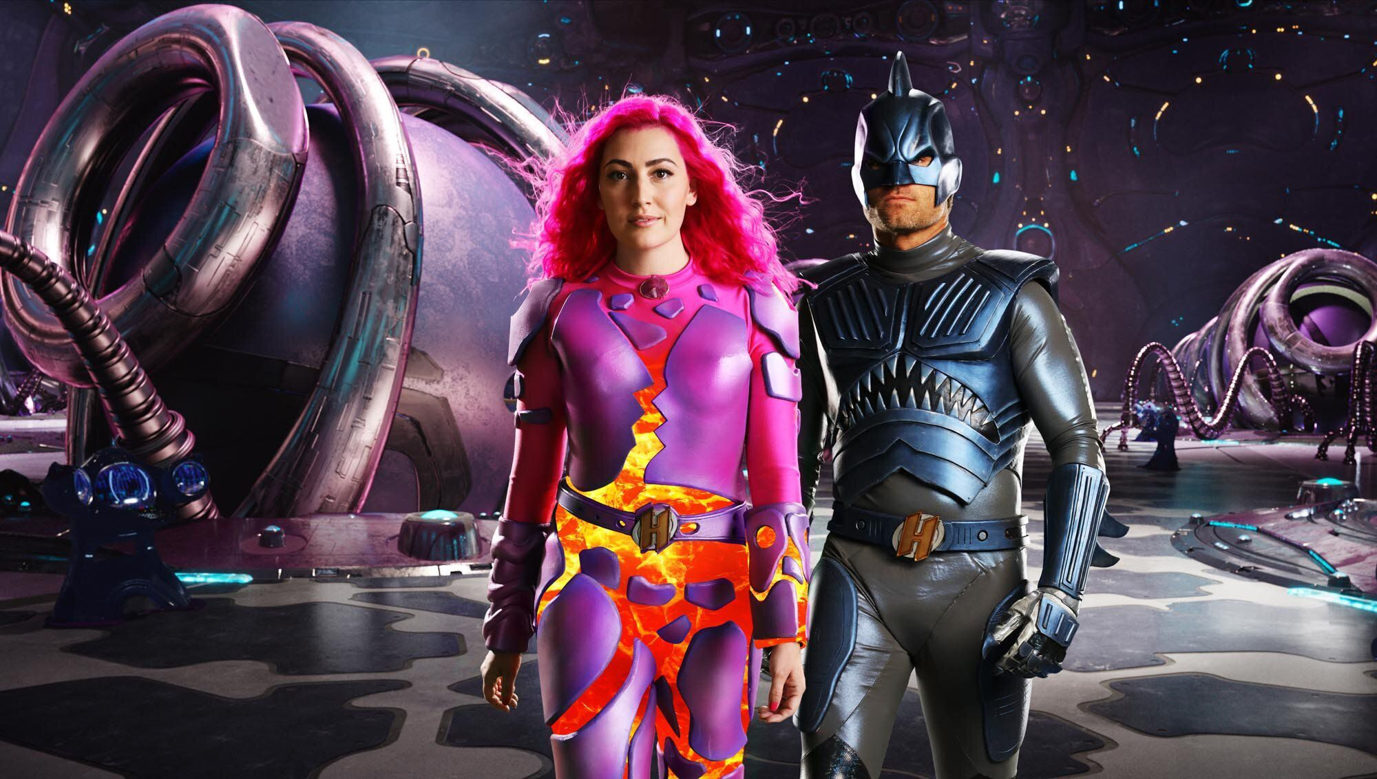 We Can Be Heroes Sharkboy et Lavagirl seront les parents dans le nouveau film de Robert Rodriguez