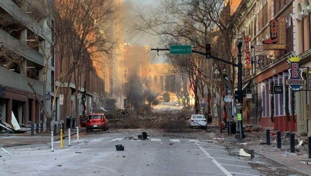 États-Unis, explosion dans le centre-ville de Nashville :