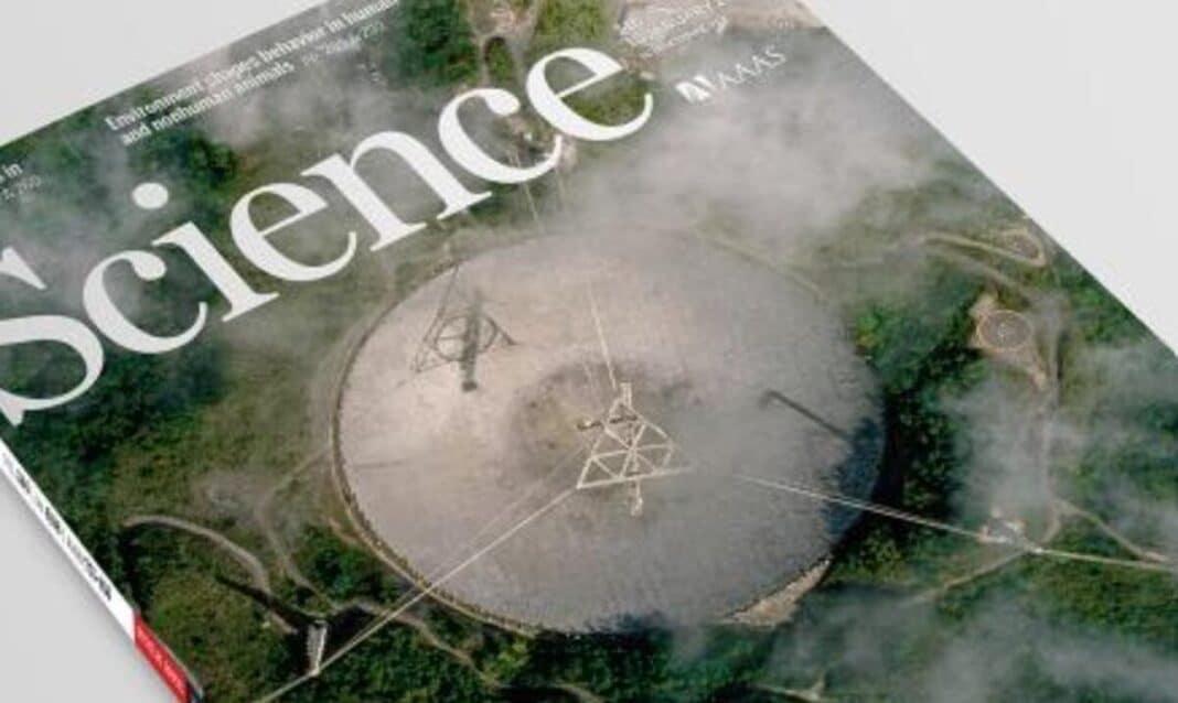 Le magazine Science consacre une couverture au radiotélescope de l'Observatoire d'Arecibo