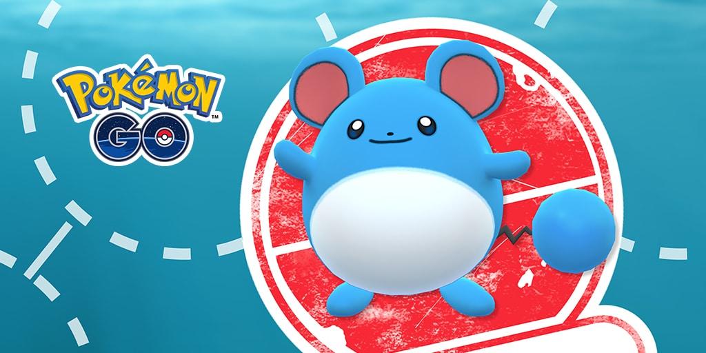 Pokémon Go : Marill est la star de la recherche ciblée du mois de mai