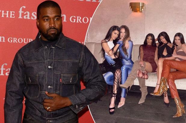 Kanye West ne suit plus les sœurs Kardashian sur les réseaux sociaux !