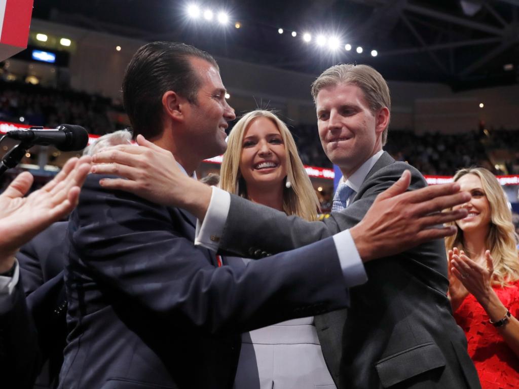 Ivanka Trump et ses frères et sœurs adultes disent adieu à la protection des services secrets