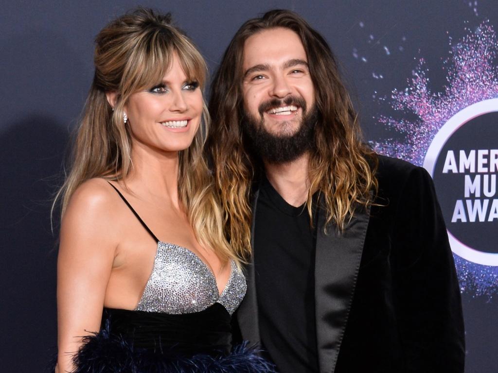 Heidi Klum a l'air très heureuse sur les photos de son deuxième anniversaire avec son mari Tom Kaulitz.