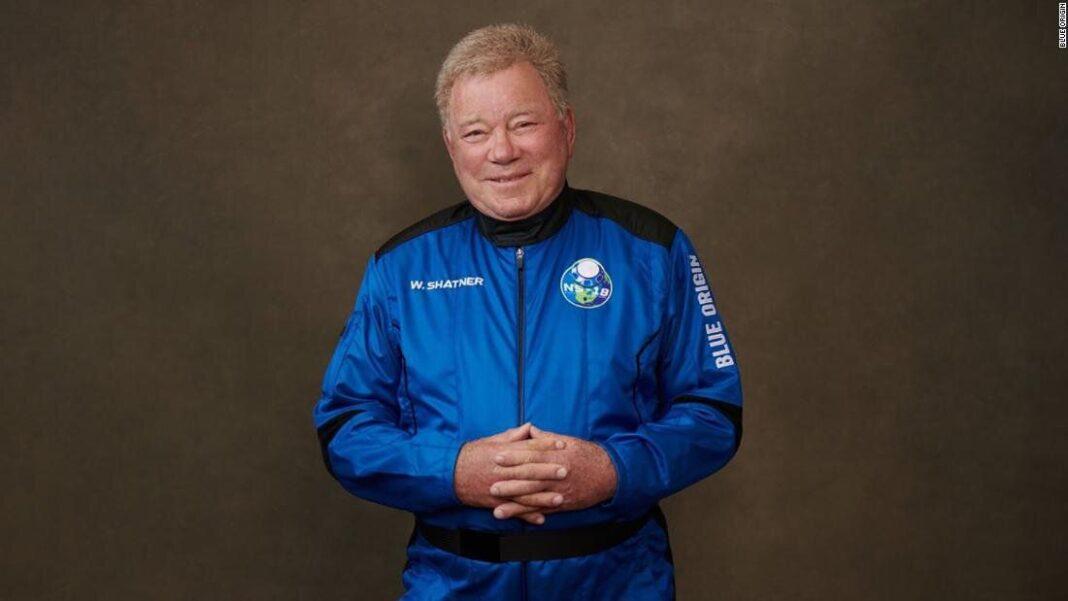Star Trek, William Shatner est la personne la plus âgée à aller (vraiment) dans l'espace